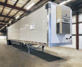 Substation work crew trailer