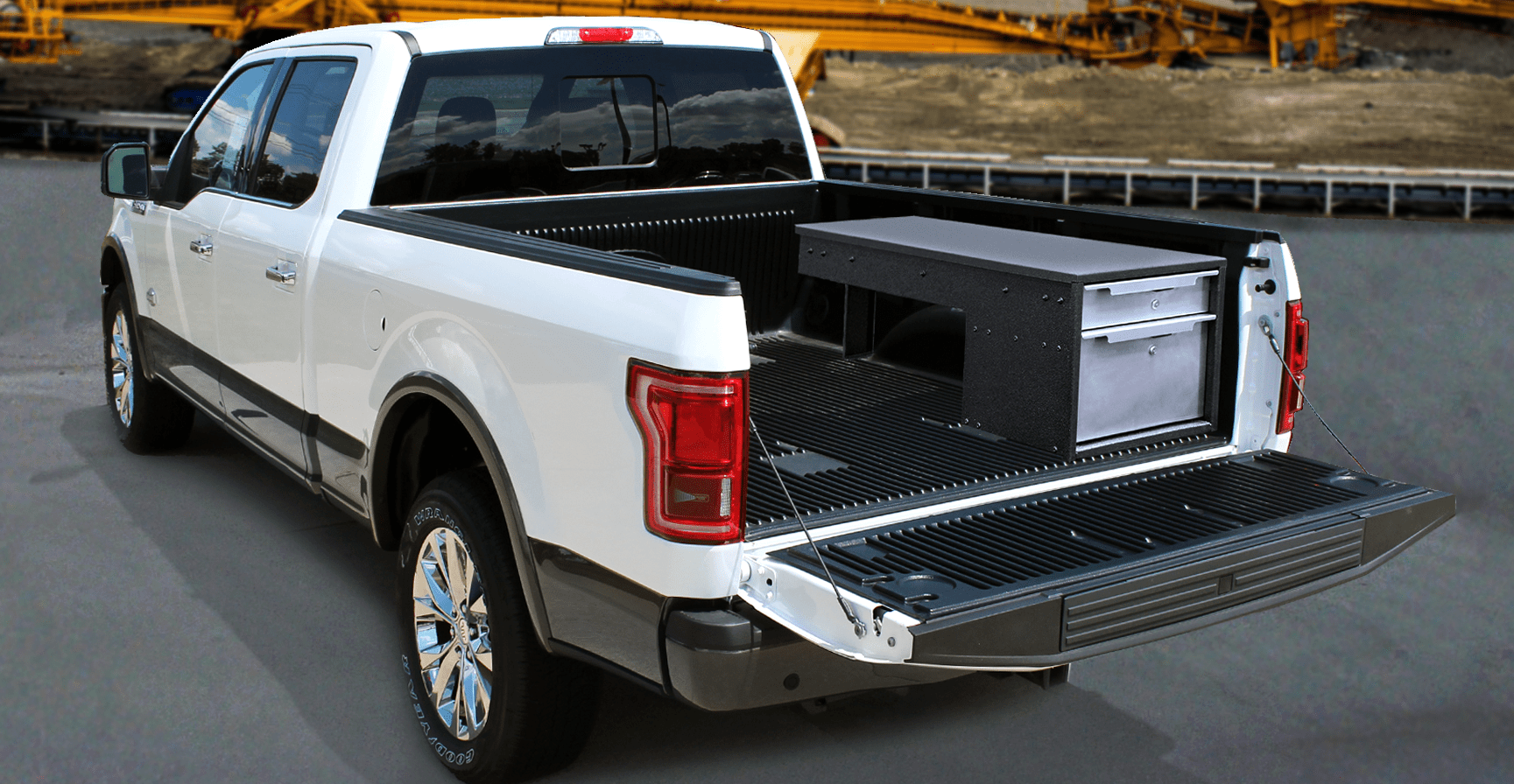 Pickup Truck Drawers Ez Stak Mobile Workspace Systems
