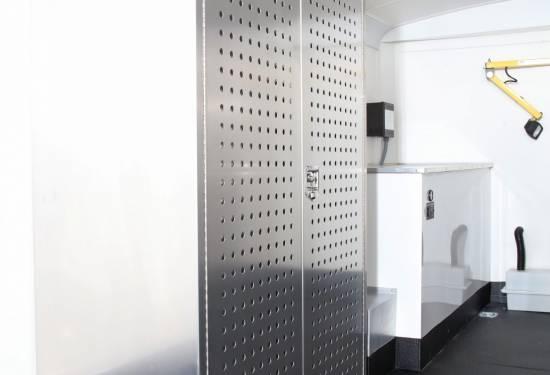 EZ STAK Perforated Locker Doors
