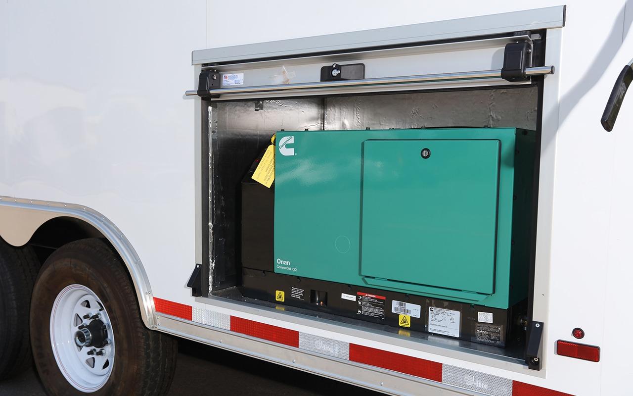 Image displaying EZ STAK Generator Exterior Cabinet
