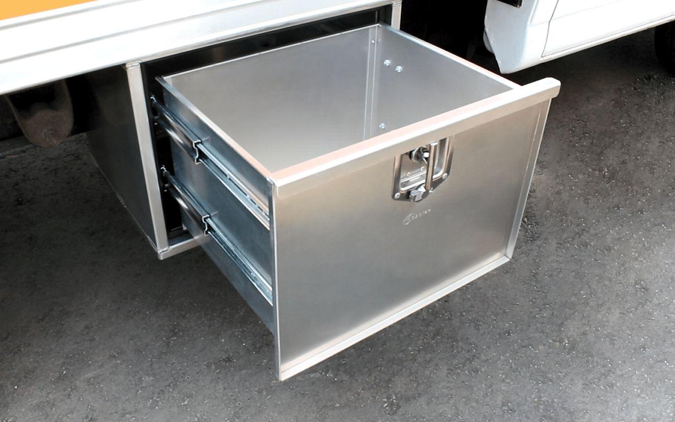 Image displaying EZ STAK Underbody drawer