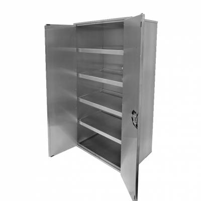Modular aluminium closet unit
