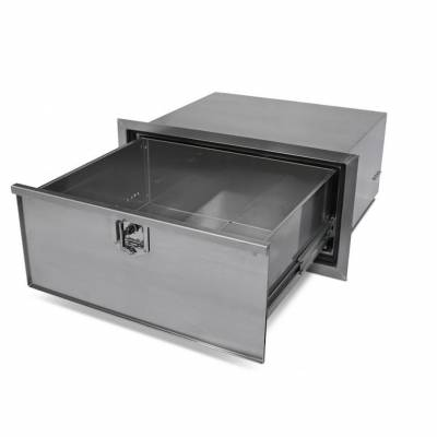 Aluminum locker unit