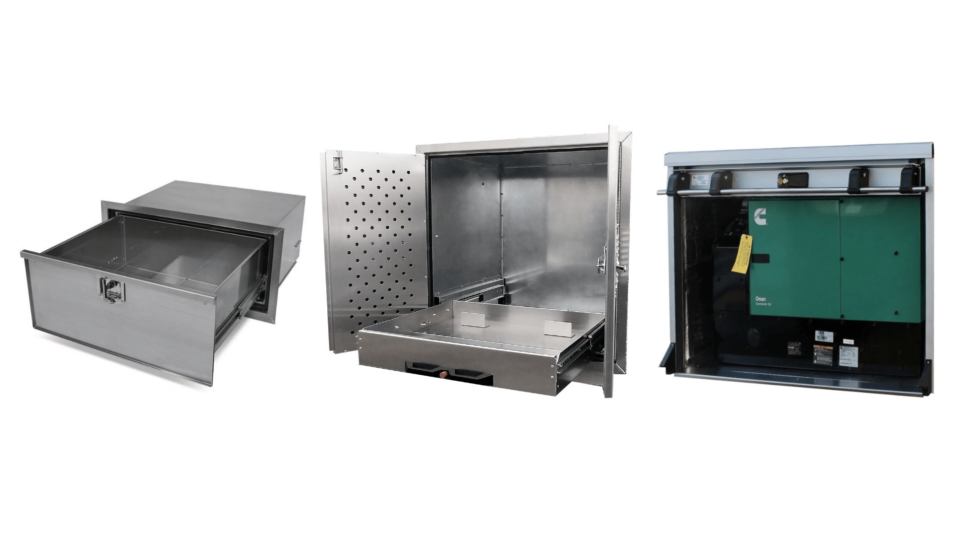 EZ STAK Exterior Cabinets for Trailers