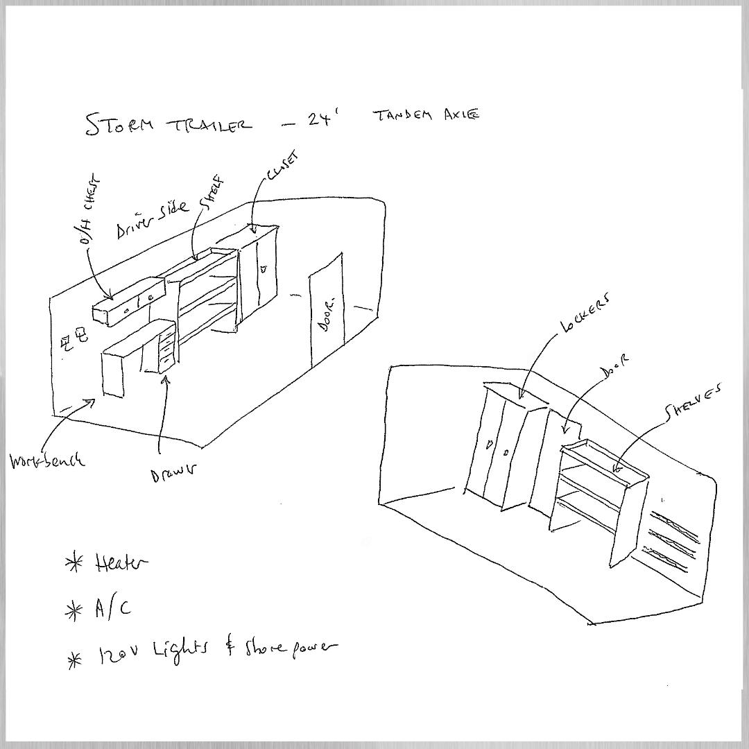 Enclosed Trailer Design