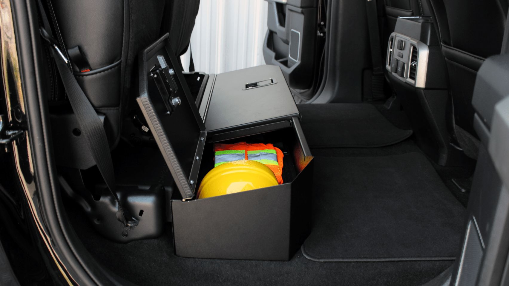 Secure Underseat Storage