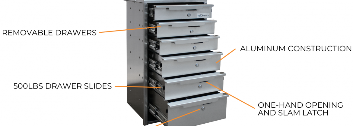 Heavy Duty Removable Drawer