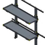 Folding Shelf MR-48-16-100