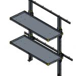 Folding Shelf MR-48-18-100
