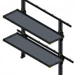 Folding Shelf MR-60-18-100