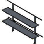 EZ STAK Folding Shelf